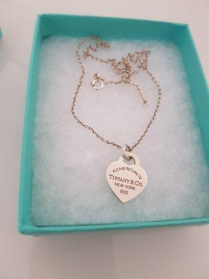 Tiffany&Co. Halskette mit Herzanhänger Gr.S