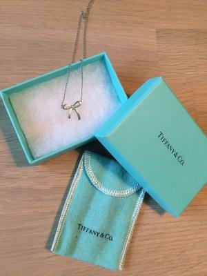 Tiffany & Co. Halskette Schleife Schleifenanhänger Sterling Silber