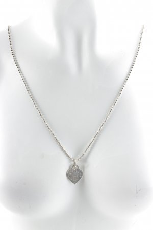 Tiffany&Co Necklace silver-colored classic style
