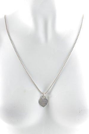 Tiffany&Co Halskette silberfarben klassischer Stil