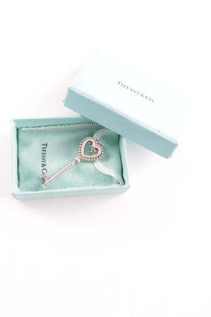 Tiffany&Co Halskette silberfarben-türkis Elegant