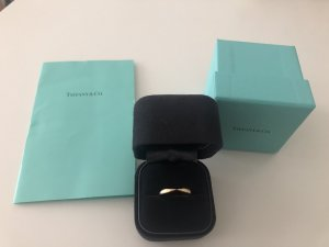 Tiffany & CO. Harmony Ring 18 Karat Rosegold