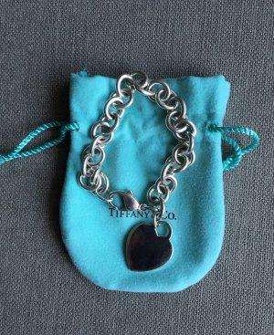 Tiffany &Co. Heart Tag Armband mit Herz und Karabinerverschluss