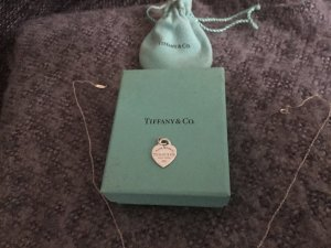 Tiffany&Co Heart Tag Kette