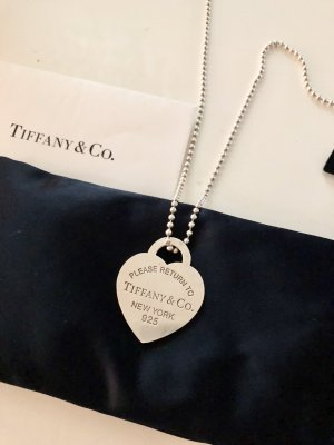 Tiffany & Co. Herzänhänger XL + Kette Thomas Sabo