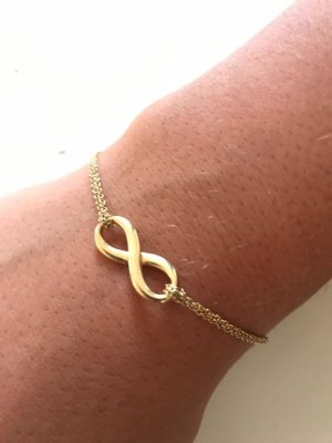 Tiffany & Co Infinity Armband 750 AU Gold Small