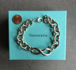 Tiffany & Co. Infinity Silber Armband mit großen Gliedern, neuwertig