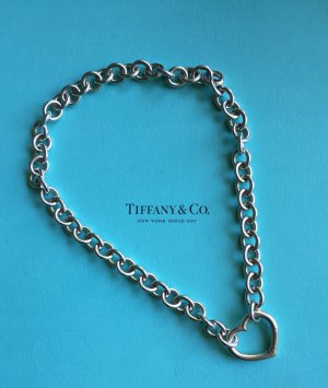 Tiffany & Co. Kette Gliederkette mit Herzverschluss Heart Clasp