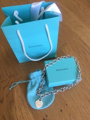 Tiffany&Co Kette Return to Tiffany aus Silber mit Herzanhänger
