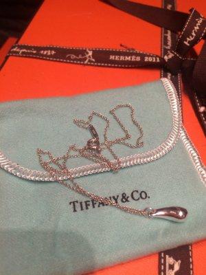 Tiffany & Co  Kette  Teardrop in Sterlingsliber