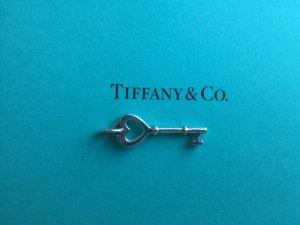 Tiffany & Co. Key kleiner Schlüssel Herzschlüssel Anhänger, 925 Sterlingsilber