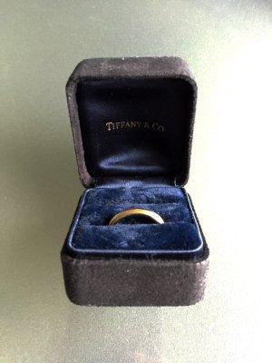 Tiffany&Co Anillo de oro color bronce
