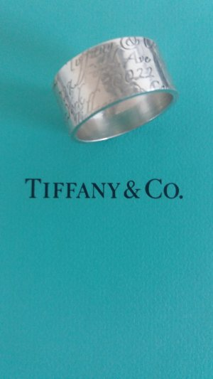 Tiffany & Co. Notes Ring silber Gr. 56