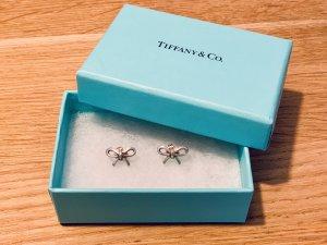 Tiffany & Co. Ohrringe Bow Silber / Schleifen-Ohrringe