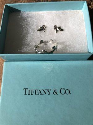 Tiffany&Co Zilveren ring veelkleurig