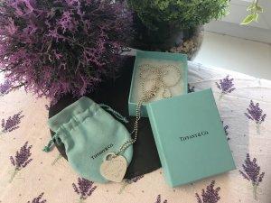Tiffany&Co Collana grigio chiaro Argento