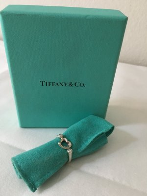 TIFFANY&CO. RING ELSA PERETTI, OPEN HEART Gr. 6 inkl. Diamanten
