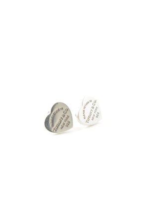 Tiffany&Co Boucles d'oreilles en argent argenté élégant