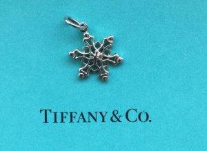 Tiffany & Co. T&Co. Charm Anhänger Schneeflocke in 925 Sterlingsilber