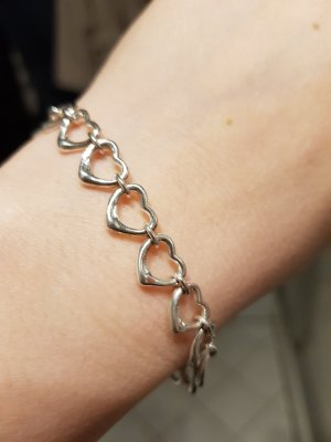 Tiffany Elsa Peretti Open hearts Armband