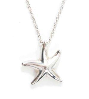 Tiffany Halskette mit Starfish Anhänger von Elsa Peretti