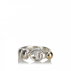 Tiffany Hook and Eye Ring