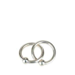 Tiffany Interlocking Circles Scarf Ring