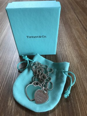 Tiffany&Co Silver Chain silver-colored-baby blue