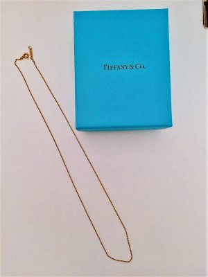 Tiffany Kette Gelbgold 46 cm 18 Karat Gold Neupreis: 320€
