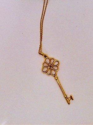 Tiffany Keys Knotenschlüssel Anhänger 4,4 cm 18 Karat Gold 1.050€