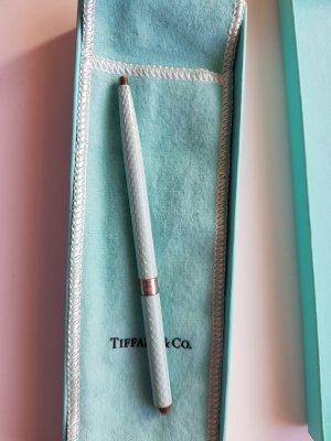Tiffany&Co Accessoire argenté-bleu clair