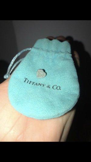 Tiffany Mini Herzohrring mit Staubbeutel