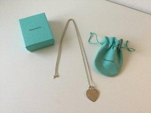 """Tiffany """"Return to Tiffany"""" großes XL Herz mit langer Kugelkette Sammlerstück"""