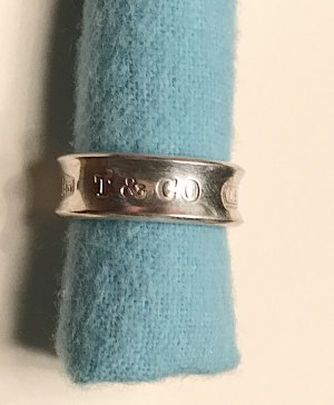 Tiffany Ring aus Sterlingsilber Gr.: 50