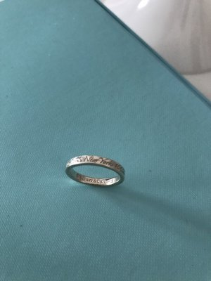 Tiffany&Co Silver Ring multicolored real silver