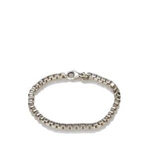 Tiffany&Co Pulsera color plata plata verdadero