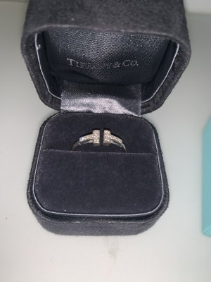 Tiffany&Co Gold Ring silver-colored-gold-colored