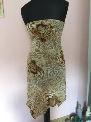 Tiger Kleid Gr.S-M Asymmetrisch
