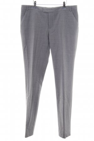 Tiger of sweden Bundfaltenhose hellgrau meliert Business-Look
