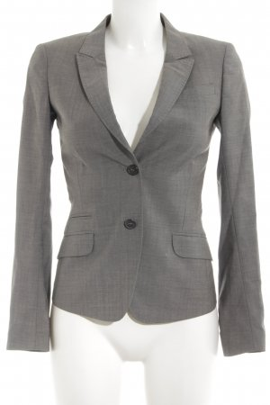 Tiger of sweden Kurz-Blazer grau-braun meliert Business-Look