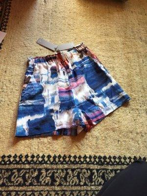Tiger of sweden kurze Hose shorts blau rot weiß 36 neu Etikett