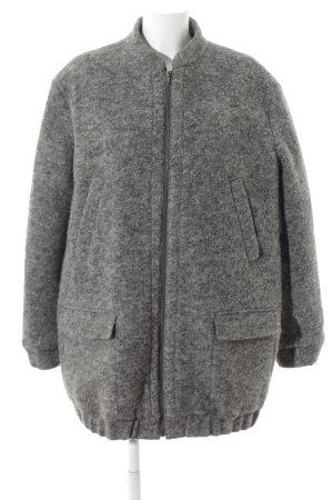 Tiger of sweden Manteau en laine gris moucheté style mode des rues