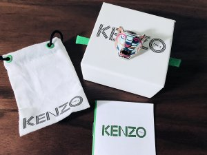 Kenzo Statement ring zilver