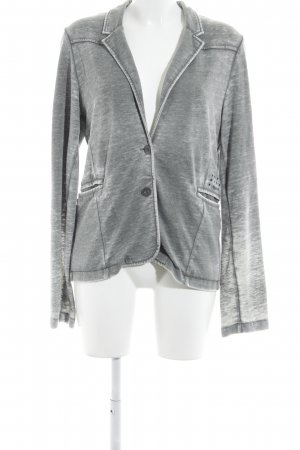 Tigerhill Jersey Blazer gris-gris claro look Street-Style