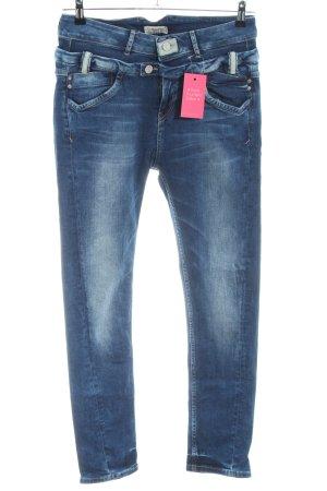 Tigerhill Skinny Jeans blau Casual-Look