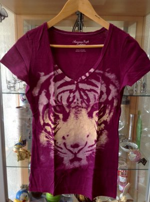 Tigershirt in Beere