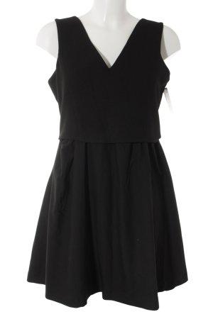 Tigha A-Linien Kleid schwarz Elegant