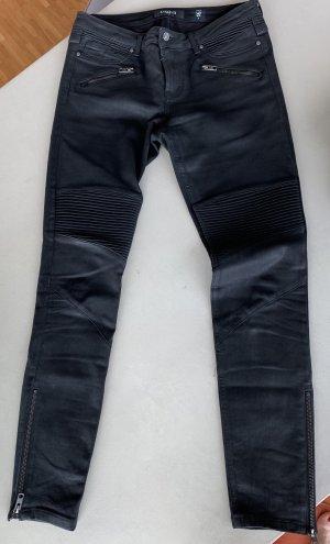 Tigha Pantalone cinque tasche nero