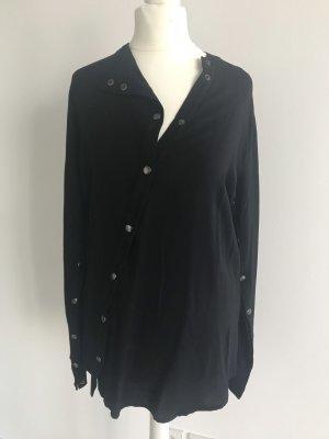 Tigha Bluse Hemd schwarz extravagant stylisch dG XS NEU