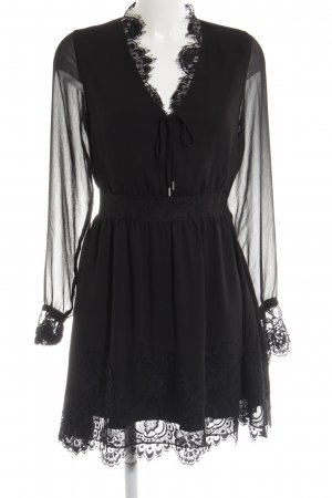 Tigha Blusenkleid schwarz Elegant
